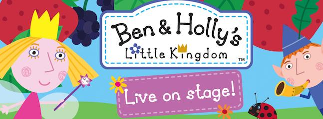 Win a Family Ticket to Ben & Holly's Little Kingdom: Live on Stage!