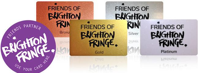 Win a Platinum Friend of the Fringe Membership