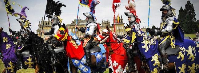 Win a Fabulous Day Out at the Blenheim Palace Summer Jousting Tournament!