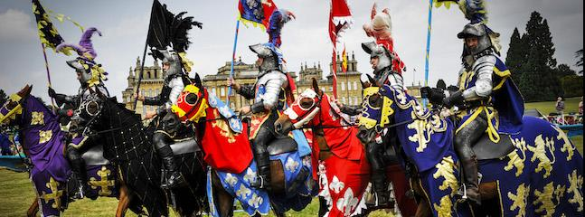 Win a Fabulous Day Out at the Blenheim Palace Spring Jousting Tournament!
