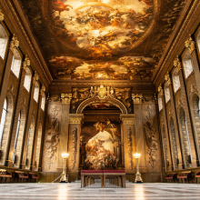 Win a trip to the magnificent Painted Hall at the Old Royal Naval College!