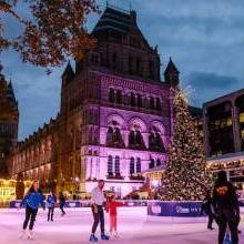 Win an ice skating session for two at the Natural History Museum Ice Rink