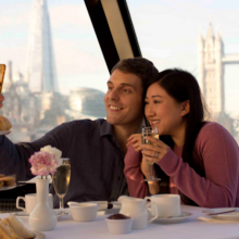 Win a Thames Afternoon Tea Cruise for Two!