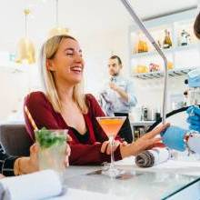 Win a Hunky Dory Manicure with Cocktail for Two at London Grace