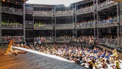 Romeo & Juliet at Shakespeare's Rose Theatre pop-up