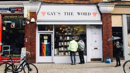 Gay's The Word shop front