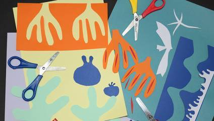 Matisse: Drawing with Scissors at the Lady Lever Art Gallery, Wirral