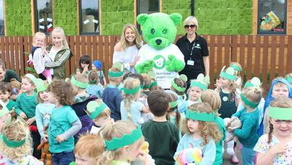 Teddy Toddle for Royal Manchester Children's Hospital Charity, Manchester