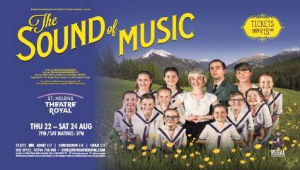 RThe Sound of Music at the St Helens Theatre Royal